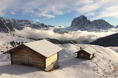 Dolomiti (Italy): mountain huts (giuliominoja) Tags: dolomiti trentino adige italia italy mountain montagna snow ski altoadige sudtirolo winter