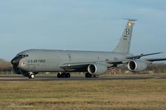 USAF, Boeing KC-135R (60-0355) 'The Jester', 351st ARS/100th ARW (mattmckie98) Tags: aircraft aviation airforce usaf us military mildenhall kc135 stratotanker nikon tanker