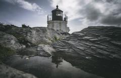 Castle Hill Reflection... (8230This&That) Tags: castlehill castlehilllighthouse lighthouse reflection newport ri rhodeisland newengland coastalnewengland rockyshores seascape seaside oceanview oceandrive unitedstatesofamerica