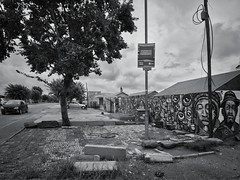 The largest suburb of Johannesburg. Soweto, South Africa (varfolomeev) Tags: 2019 юар город улица чб southafrica city street monochrome bw samyang12mm