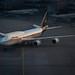 Lufthansa Boeing 747-8i new livery at FRA (D-ABYA)