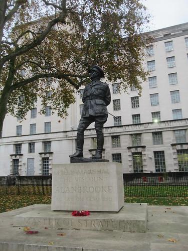 Field Marshal Alan Francis Brooke 1883-1963, 1st Viscount Alanbrooke, Ivor Roberts-Jones (Sculptor), Whitehall, City of Westminster, London, SW1A 2ET (1)
