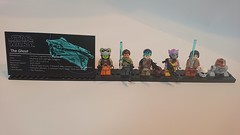 "Lego Star Wars Rebels ""the Ghost"" moc: minifigure stand"