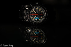 speedmaster (~kenlwc) Tags: speedmaster omega mark40 watch collection kenlwc vintage sonya7r2 sony90mmmacro light flash clock reflection kenleung macro