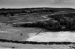 Morbihan, Quiberon, B&W, 77 (Patrick.Raymond (6M views)) Tags: bretagne morbihan quiberpn seascape nikon bw mer océan sauvage