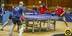 _DB10121-2 (Sprocket Photography) Tags: tabletennis tabletennisengland bat ball net table player competition britishpremierdivision batts ormesby harlow essex doubles umpire