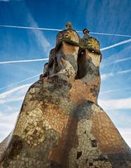 Casa Batllo chimnies (Alf Branch) Tags: casabatllo barcelona spain city antonigaudi archtecture house alfbranch olympus omd olympusomdem5mkii leicadg818mmf284