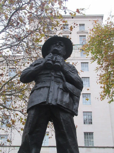 Field Marshal William Joseph Slim 1891-1970, 1st Viscount Slim, Ivor Roberts-Jones (Sculptor), Whitehall, City of Westminster, London, SW1A 2ET
