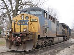 CSX 280 (rkilpatrick) Tags: csx csxtransportation csxrailroad locomotive diesel generalelectric ge olneyil