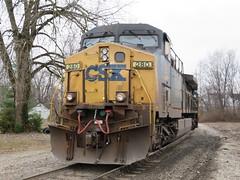 CSX 280 (rkilpatrick) Tags: olneyil csx csxtransportation csxrailroad locomotive diesel generalelectric ge