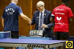 _DB10323-2 (Sprocket Photography) Tags: tabletennis tabletennisengland bat ball net table player competition britishpremierdivision batts ormesby harlow essex umpire handshake