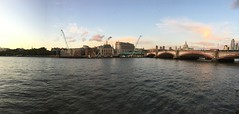 New job surroundings (fjordaan) Tags: 2019 architecture blackfriars blackfriarsbridge london panorama
