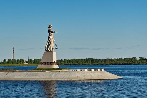 Mother Volga monument
