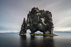 Hvítserkur (Rico the noob) Tags: dof rock z7 landscape nature water mountains outdoor clouds iceland travel 2470mmf28s published sky 2470mm rocks 2019 longexposure mountain
