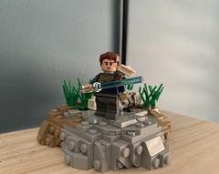 Cal Kestis (Snowy Bricks) Tags: star wars starwars jedi fallenorder bd1 lego moc