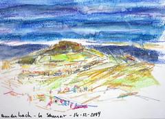 Bruderbach 15-12-2019 (messer.christophe) Tags: neocolor ii paysage landscape dessin plein air