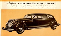The Great New Chryslers for 1935 (Jasperdo) Tags: brochure pamphlet chrysler automobile car vehicle airflow imperial sedan limousine