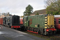 Having a rest (jlw0414) Tags: brechin angus scotland unitedkingdom diesel class11 12052 12093