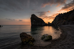 Rock Diva, Simeiz (gubanov77) Tags: crimea simeiz beach blacksea sea sunset dusk goldenhour twilight sky skyline rockdiva nature landscape afterglow nationalgeographic travelphotography travel promenade relax