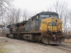 CSX 280 (rkilpatrick) Tags: olneyil csxrailroad csxtransportation csx locomotive diesel generalelectric ge