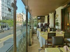 The Veranda of the Hotel Bolivar (Lewitus) Tags: hotelbolivar lima peruveranda glass tables chairs rof