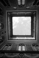 Palazzo Medici-Riccardi - Florence - October 2019 (cava961) Tags: florence palazzomediciriccardi analogue analogico monocrome monocromo bianconero bw canon