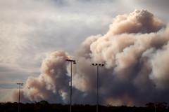 Mount Wilson Fire 2 || BLUE MOUNTAINS || NSW (rhyspope) Tags: blue mluntains bluemountains australia nsw new south wales newsouthwales rhys pope rhyspope canon 5d mkii waterfall bushfire smoke summer forest woods