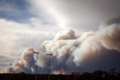 Mount Wilson Fire 1 || BLUE MOUNTAINS || NSW (rhyspope) Tags: blue mluntains bluemountains australia nsw new south wales newsouthwales rhys pope rhyspope canon 5d mkii waterfall bushfire smoke summer forest woods