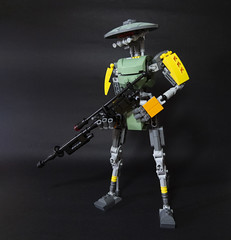 RN-8 (Johann Dakitsch) Tags: lego droid robot bionicle bounty hunter mercenary scifi android sniper toy custom building moc
