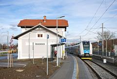 ČD 641.007-0, Os 4921, Židlochovice, 251 (cz.EightyFour) Tags: vlak train zug 2560 nikond7200 židlochovice 251 regiopanter škoda