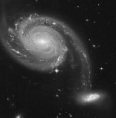 Arp 86 (geckzilla) Tags: galaxy spiral dust lanes interacting hst hubble