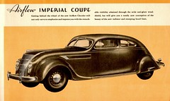 The Great New Chryslers for 1935 (Jasperdo) Tags: brochure pamphlet chrysler automobile car vehicle airflow imperial coupe