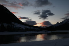 Waiting for sunrise (davebloggs007) Tags: spray lakes road canmore alberta canada