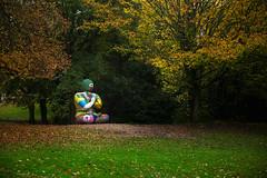 zen (james_drury) Tags: ysp yorkshiresculpturepark meditate buddha nikidesaintphalle mosaic canonef2470mmf28liiusm autumn