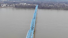 "Aerial Shot of the Irvin S. Cobb ""Brookport "" Bridge in Paducah, KY (adl1056) Tags: aerialbridge paducahkentucky aerial brookportbridge"