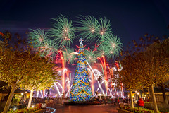 Epcot - Ring in the Christmas Spirit (Jeff Krause Photography) Tags: christmas disney expcot fireworks forever park showcase tree wdw walt world theme orlando florida unitedstatesofamerica