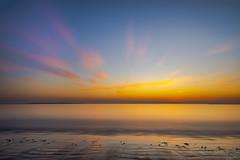 Sunrise (kmanoh) Tags: usa unitedstates america northamerica northeast newengland massachusetts ma suffolkcounty revere reverebeach beach city morning sun sunrise nikon d810 tamron seascape ocean massachusettsbay bay water blue clouds