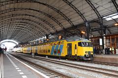 NSR DDM set 7208 at Haarlem, December 15, 2019 (cklx) Tags: 1768 ddm1 dubbeldekkers dubbeldekker bilevelcars excursion nvbs 1700 ns nederlandse spoorwegen
