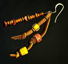 Handmade (Jack Blackstone (OnTheRoad...Off/On)) Tags: em1mkii flickr handmade lowkey jewelry earring nativeamerican macro color detail craftmanship macromondays