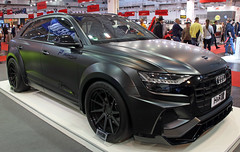 Darth Audi (Schwanzus_Longus) Tags: essen motorshow german germany modern car vehicle suv audi q8