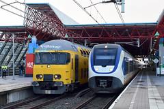 NSR set 7208 and SLT at Lelystad, december 15, 2019 (cklx) Tags: 1768 ddm1 dubbeldekkers dubbeldekker bilevelcars excursion nvbs 1700 ns nederlandse spoorwegen