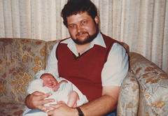 Me and baby (Michael Vance1) Tags: man boy family husband humor horror writer cartoonist journalist oklahoma