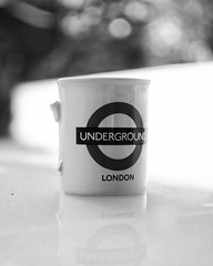 20 years (Mister Blur) Tags: 20years souvenir mug underground london bokeh shallow depthoffield dof perspective perspectiva blancoynegro blackandwhite noireetblanc bw nikon d7100 35mm nikkor lens f18