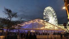 Ice Rink and The Big Wheel  Leicester 2019 (KiranParmar) Tags: ice rink the big wheel leicester 2019 christmas festive light