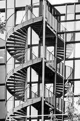 l'escalier (Rudy Pilarski) Tags: blackandwhite bw building nikon noiretblanc geometry nb d750 bâtiment escalier city france monochrome modern ciudad line moderne contraste géométrie ville ligne courbe contemporain géométrique géométria francia châtillon reflection reflet structural structure structura