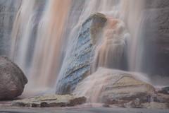 Grad Falls-1814-Edit (Michael-Wilson) Tags: grandfalls michaelwilson arizona southwest navajo navajonation canyon waterfall waterfalls river stream creak longexplore rock water flow motion mud brown
