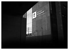 University Of Nottingham (Dave Button) Tags: universityofnottingham universitypark fuji fujifilm xpro2 xf23mmf2 bw blackandwhite mono monochrome acros lightandshade border light shadow dark