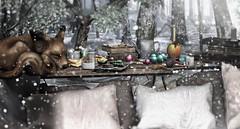 #Deco.  「 Merry Xmas ... Little friend」 (Contact SL : YeriakTH Couturier) Tags: ayla merryxmas decoration homegarden holidays winter goodies foxwood daddesign thearcade sl