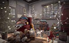 My Christmas Puppies (AGodenot) Tags: applefall zerkalo brocante dust bunny jian fancy decor tarte tlg trompeloeil what next 8f8 kustom9