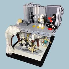 "Mission 16.2 ""Through the Mines"" | 253rd Legion (EMazingbrix) Tags: lego starwars moc vignette build minifig minifigure minifigures clone emazingbrix youtube instagram"